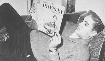 Image result for elvis presley reading