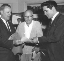 Image result for Elvis and Memphis mayor 1962