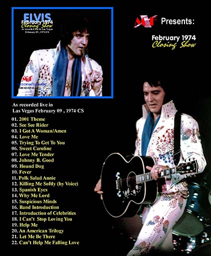 Image result for elvis presley, february 9, 1974