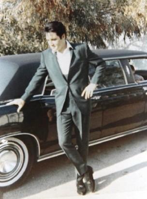 Image result for elvis presley april 6, 1970, 6 door 1969 Mercedes limo.