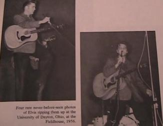 Elvis Dayton Ohio 1956