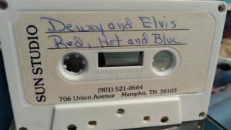 Dewey Phillips Thats all right mama sun records cassette 1987